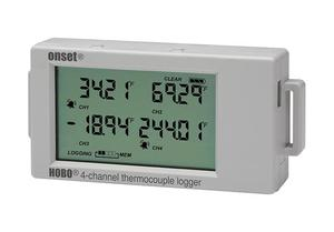 Hobo 4 channel thermocouple data logger hobo thermocouple data logger ux120 014m