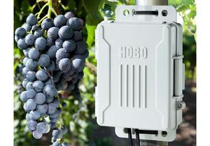 Onset hobo weather station micro h21 usb vineyard